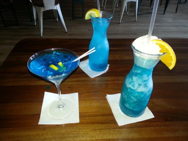 Blue Beverages